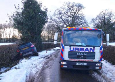 Urban Vehicle Logistics Car Recovery