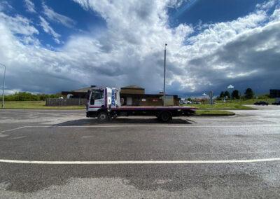 Urban Vehicle Logistics Recovery Truck
