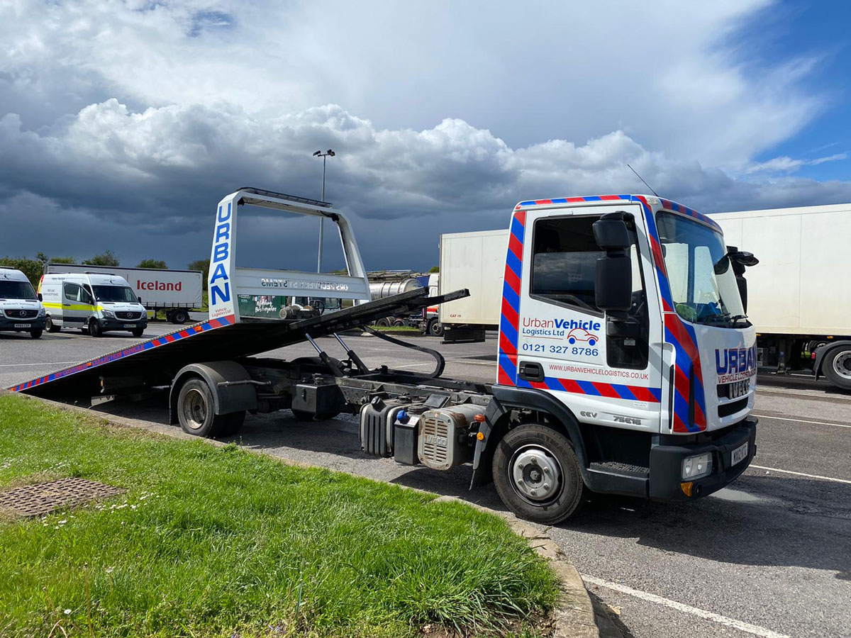 Urban Vehicle Logistics Recovery Truck 2