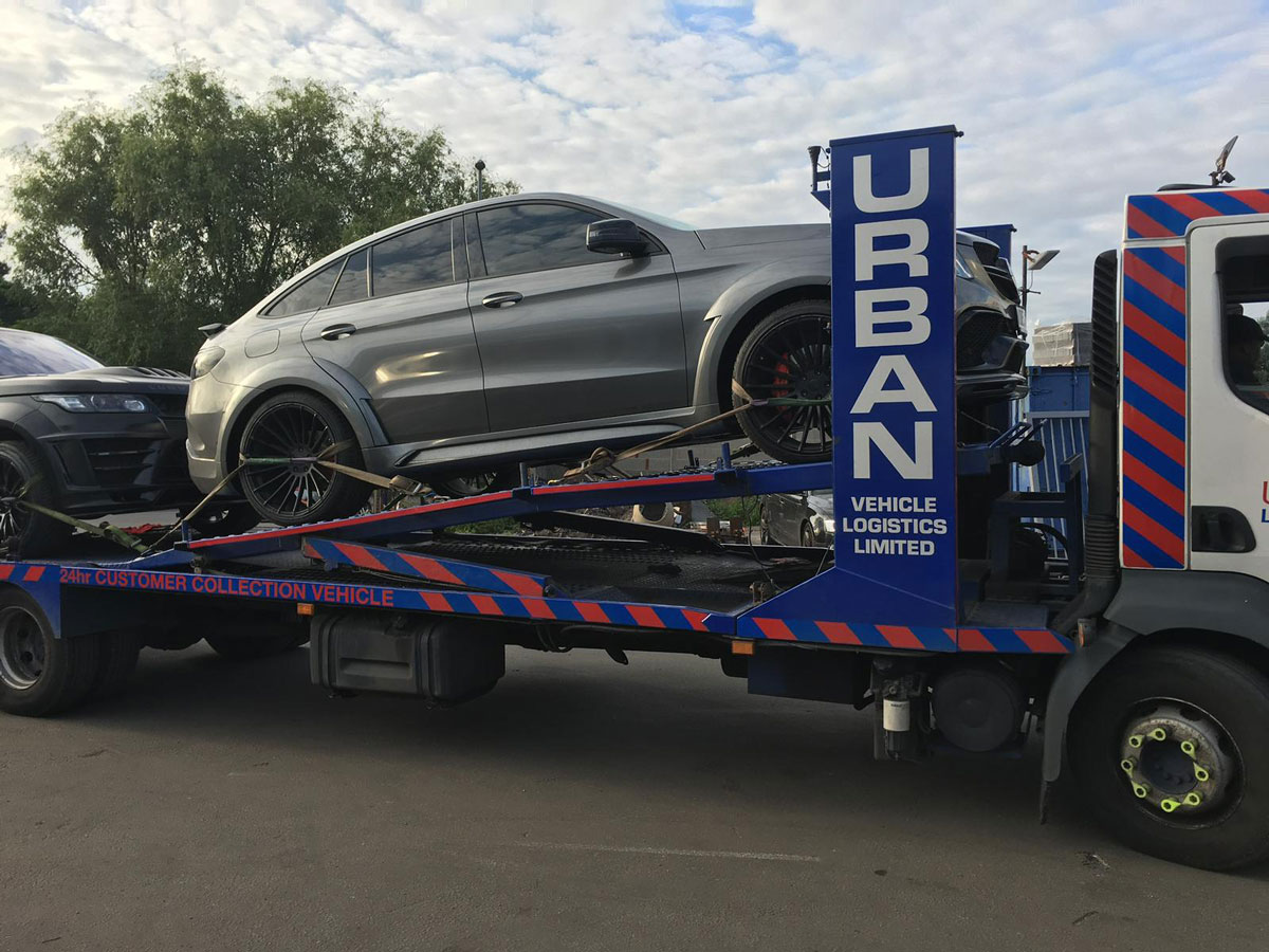 Urban Vehicle Logistics Vehicle Delivery 4