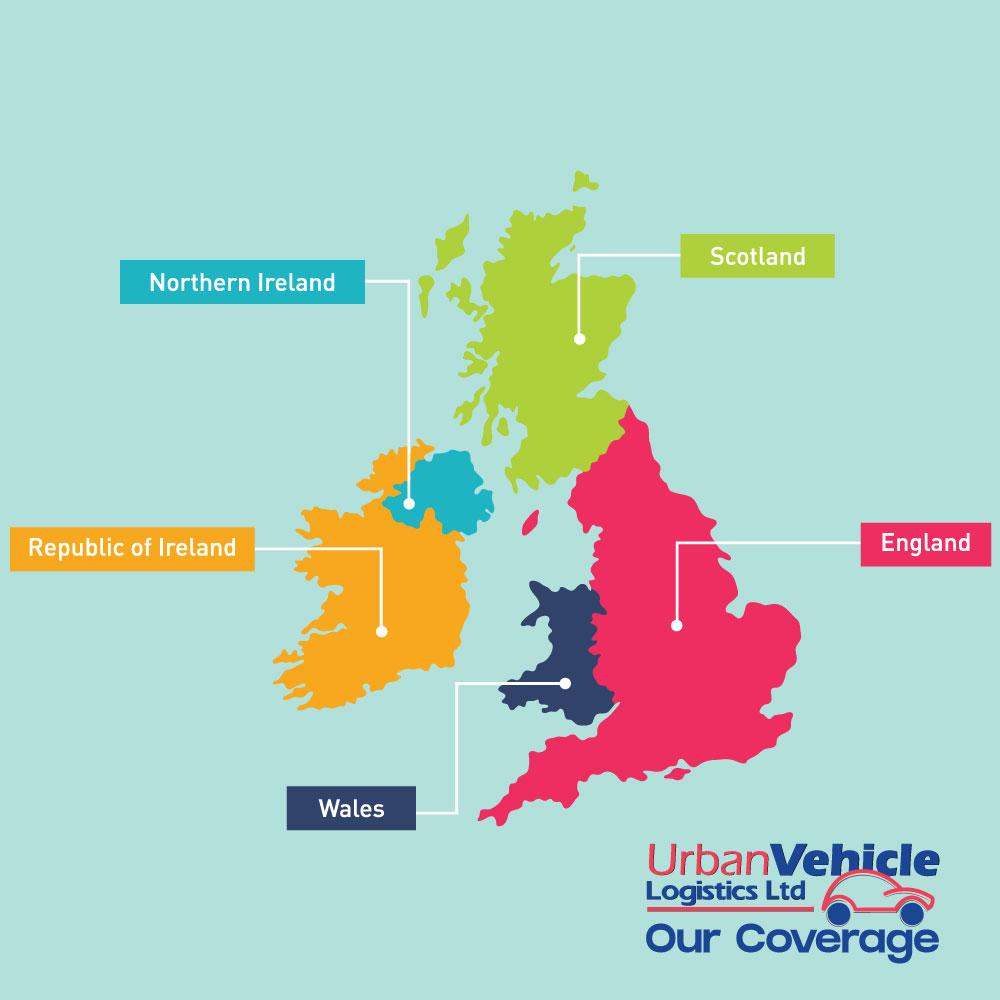 Urban Vehicle Logistics Coverage Map